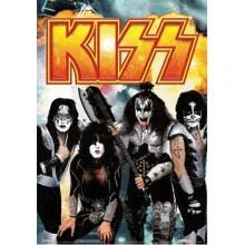 Poster 3D KIZZ Groupe de Rock Américain