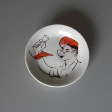 Cendrier Homme au bonnet rouge GAY 505