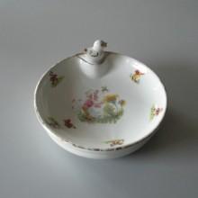 Assiette chaude à bouillie pour bébé Porcelaine de Limoges