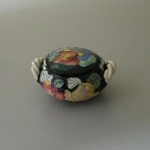 Bonbonnière en céramique de style Vallauris - France