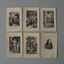 Ancienne carte postale Lot de 6 Héliographie de N.D.