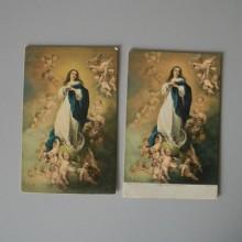 Deux anciennes cartes postales STENGEL & Co GmbH