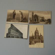 CPA un lot de 4 cartes postales