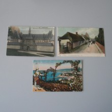 CPA un lot de 3 cartes postales couleurs