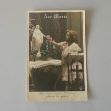 CPA Ave Maria CROISSANT Paris, SAZERUC Phot. de 1909