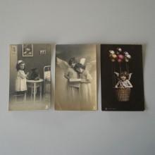 CPA un lot de 4 cartes postales RPH