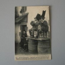 CPA Biniou et Bombarde - Le Doaré 514 de 1900