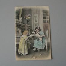 CPA carte colorisée KG & Cie Paris série 109