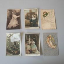 CPA Lot de 6 cartes postales Réligion catholique