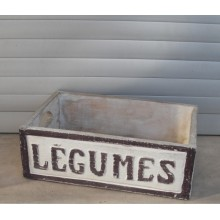 Casier ou bac a LEGUMES en bois Taille 21 x 31 cm