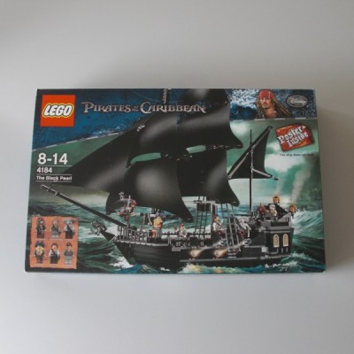 Boite Neuf Un Dans Scellée Pirates Of Carribean The Coffret 4184 Lego OTXZuPki