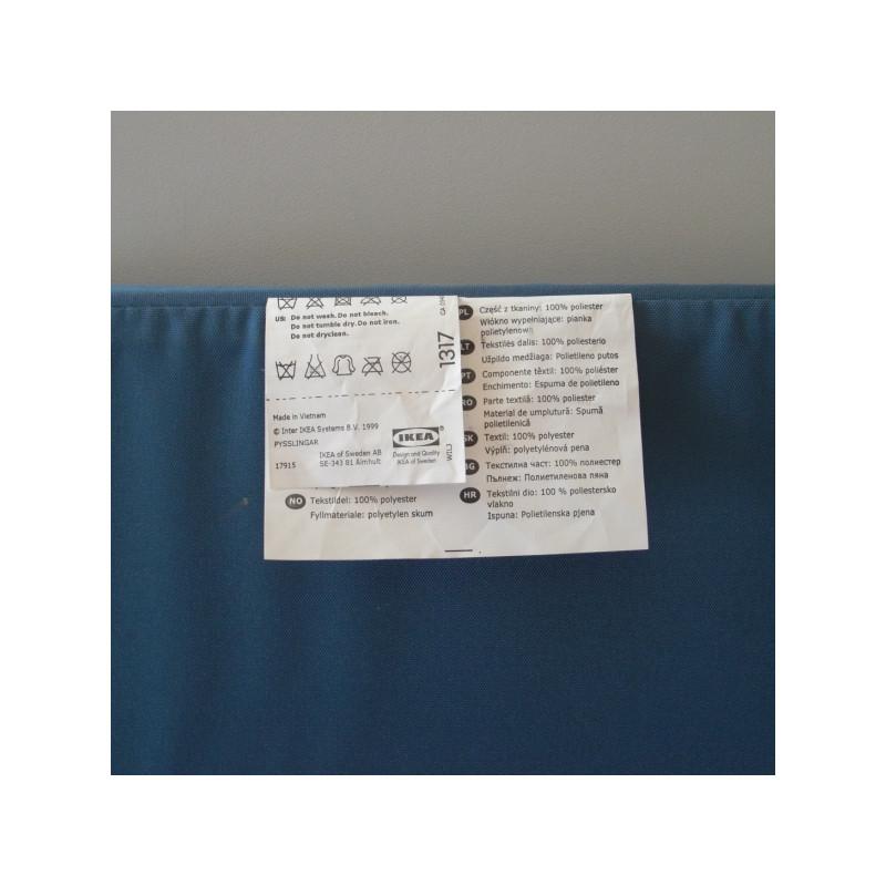 Un Miroir En Textile Bleu Avec 2 Portes Et Des Rangements
