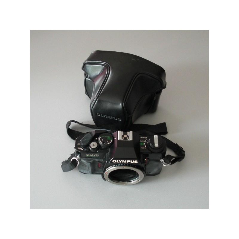cette appareil photo est de la marque olympus mod le om40 program. Black Bedroom Furniture Sets. Home Design Ideas