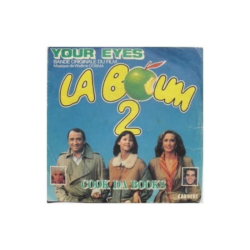 Le titre de ce disque vinyle 45 Tours de la BO La Boum 2