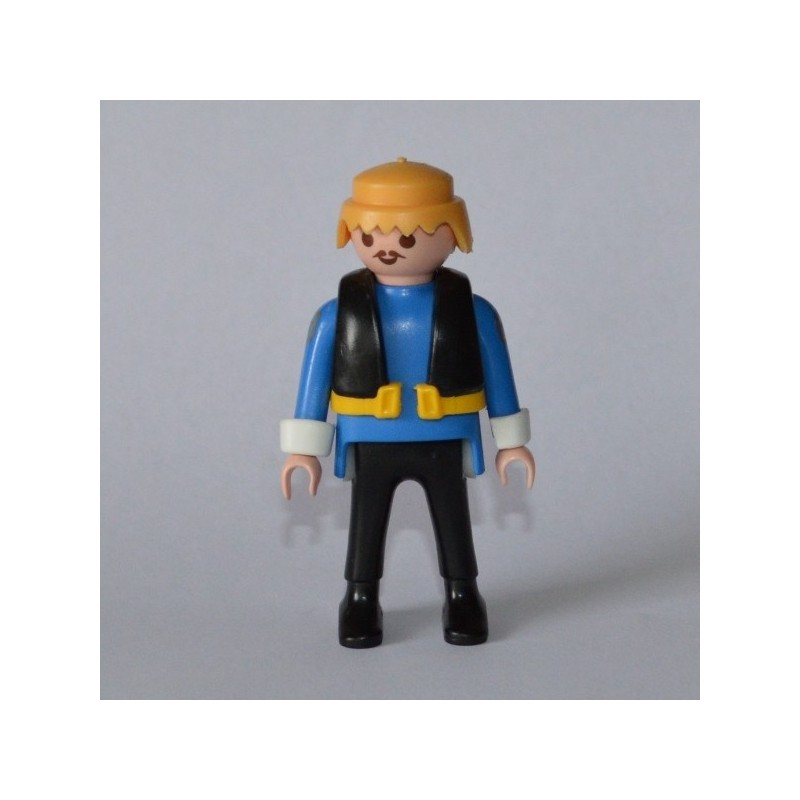 un personnage homme avec gilet de la marque playmobil de 1997. Black Bedroom Furniture Sets. Home Design Ideas